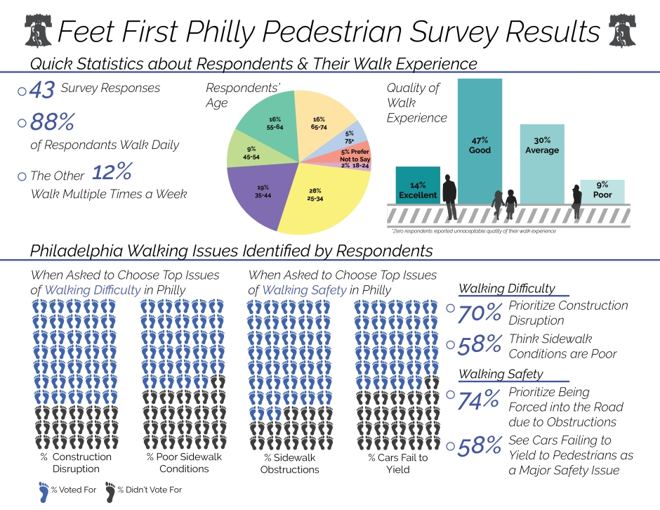 Pedestrian Survey Results