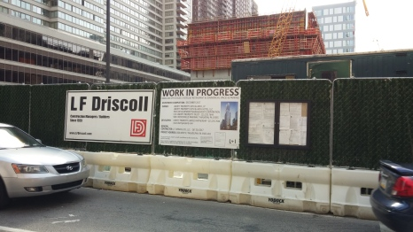 Comcast 2. Project Signs and Permits on 18th St.