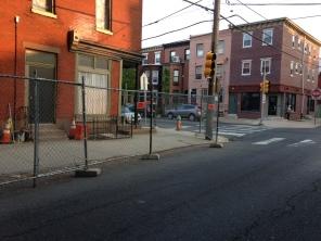 17th & Christian SWC. 17th St. Sidewalk.