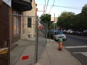 17th & Christian SWC. Christian St. sidewalk.