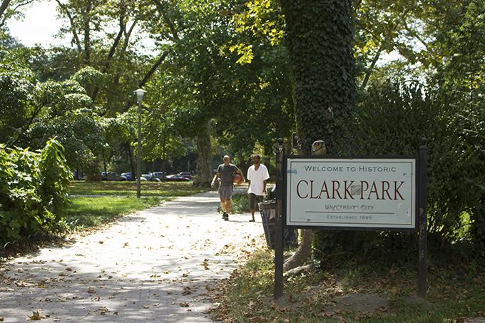 Clark Park in West Philadelphia